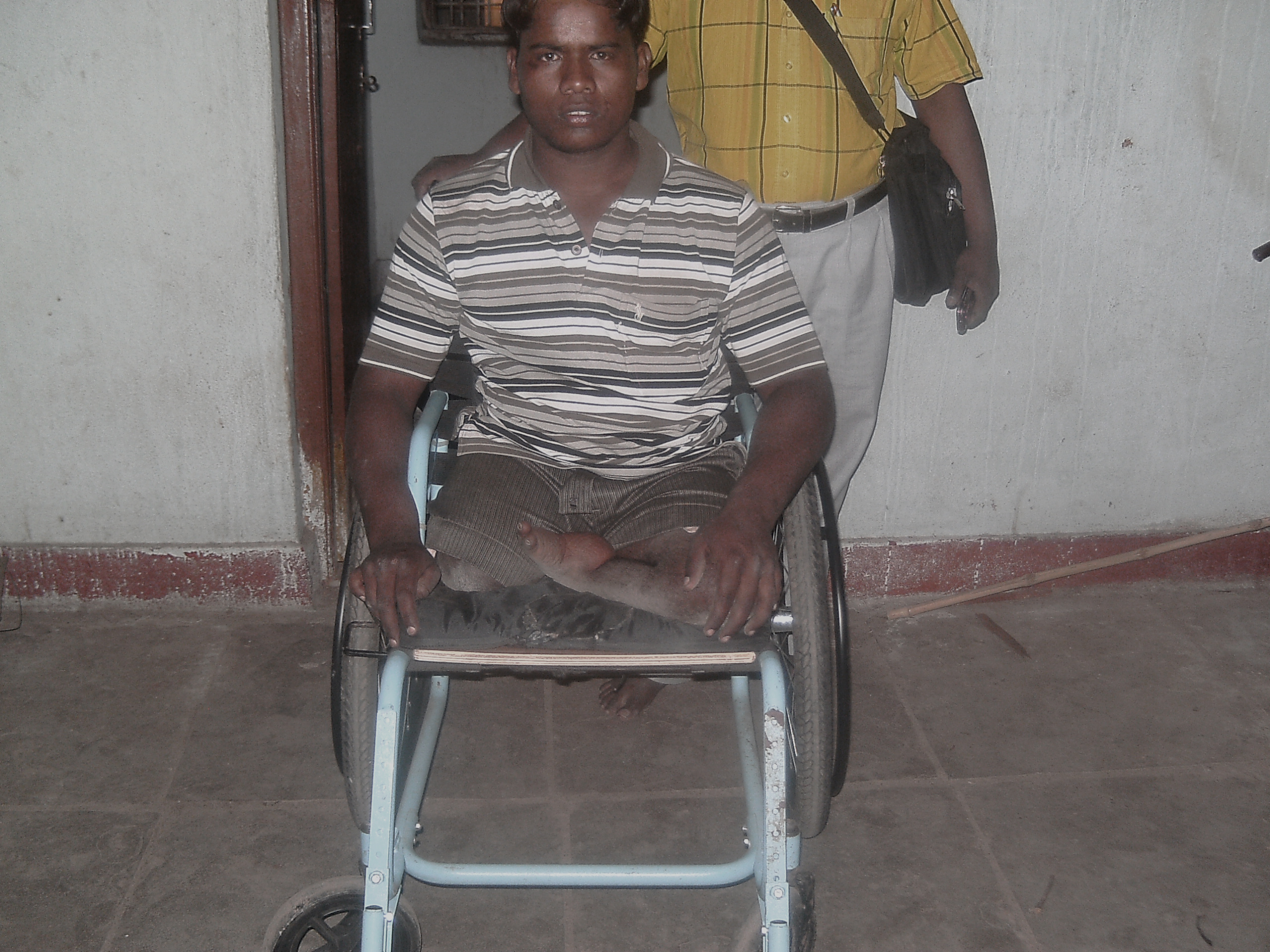 need sponsor for disabled people, financially support to disabled people